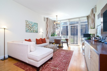 Stunning 1 Bedroom, 1.5 Bath South Facing Apartment With Terrace Near  Columbus Circle