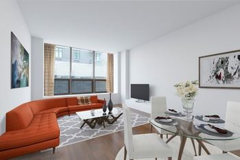 Must see! 1001SF Conv Loft-like 2BD 2 Full BA Apartment in The Powerhouse | LIC